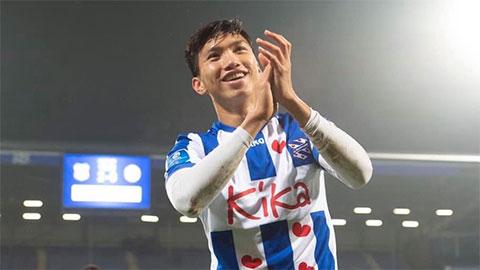 Văn Hậu trở về Hà Nội FC đá V.League