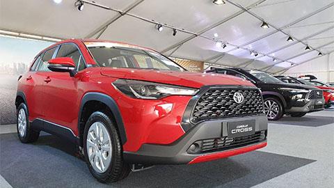 Toyota Corolla Cross thiết kế thể thao về VN, giá ngang ngửa Mazda CX-5 đe Honda CR-V