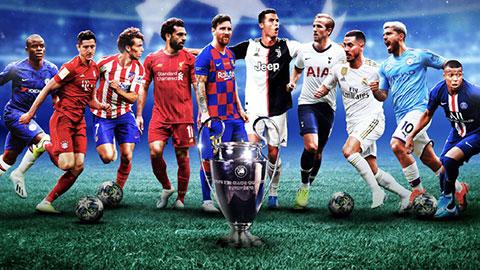 14 CLB đã có vé dự vòng bảng Champions League 2020/21