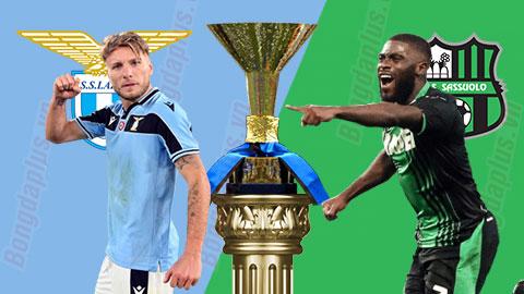 Nhận định bóng đá Lazio vsSassuolo, 22h15 ngày 11/7