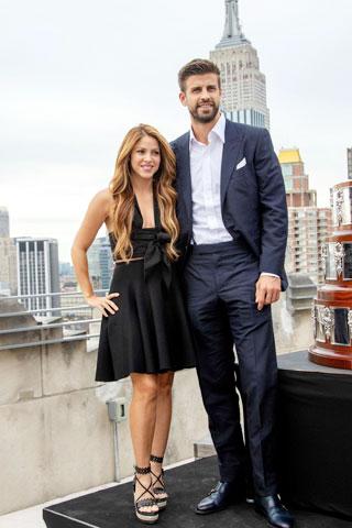 Pique và Shakira luôn là một cặp đôi đẹp trong suốt 10 năm qua