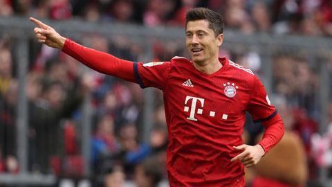 Lewandowski hoàn tất cú đúp giải thưởng Cầu thủ xuất sắc nhất Bundesliga 2019/20