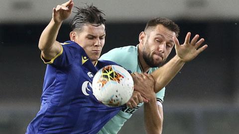 Inter: Candreva, già nhưng vẫn ''gân''