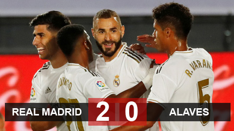 Real 2-0 Alaves: Chạm một tay vào chức vô địch