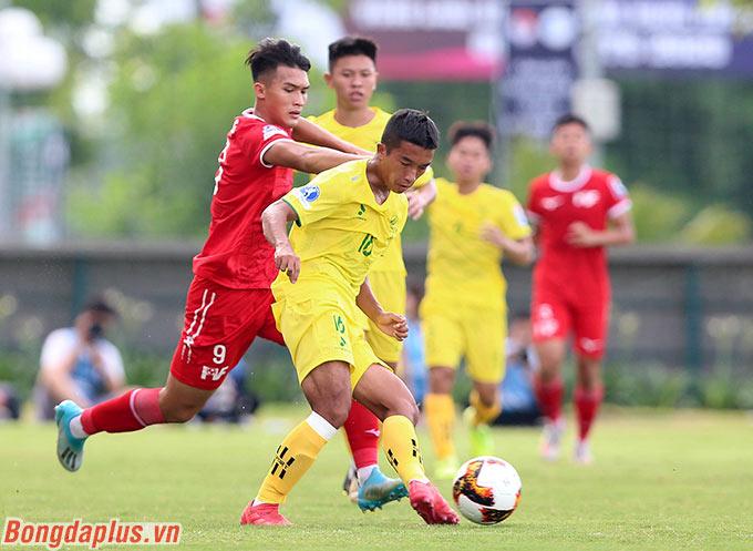 Cả PVF và Phú Thọ đều thể hiện được lối chơi tấn công đẹp mắt, cống hiến