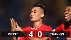 Viettel 4-0 Hải Phòng: Viettel lọt vào top 3