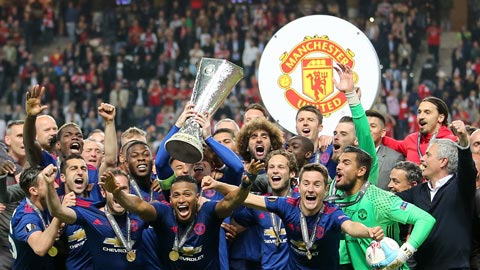 M.U có tỷ lệ cược vô địch Europa League cao nhất