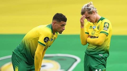Norwich là đội đầu tiên xuống hạng tại Premier League 2019/20