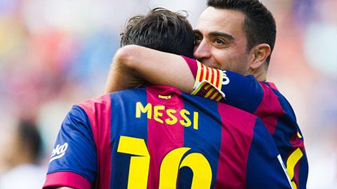 Messi đưa Xavi trở lại Barca theo cách của riêng mình