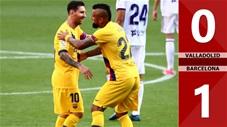 Valladolid 0-1 Barcelona (Vòng 36 La Liga 2019/20)