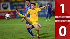 Nam Định 1-0 Quảng Nam (Vòng 9 V.League 2020)