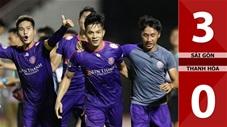 Sài Gòn 3-0 Thanh Hóa (Vòng 9 V.League 2020)
