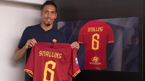 Roma đạt thỏa thuận mua đứt Smalling
