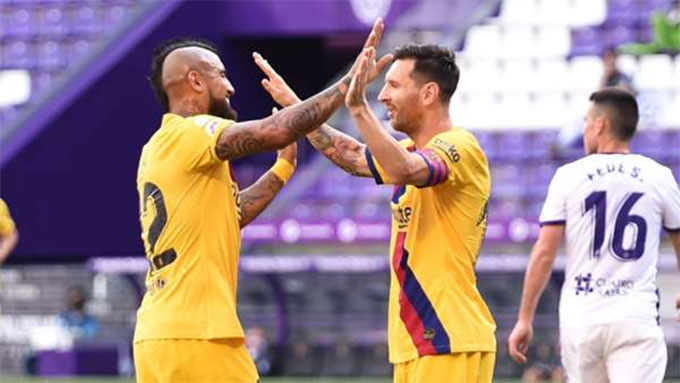 Messi đã có 20 pha kiến tạo ở La Liga mùa này