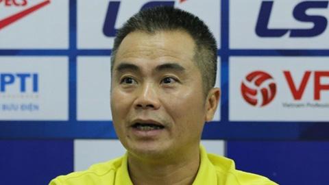 HLV Phạm Minh Đức: 'SLNA chỉ chơi như vậy, còn Hà Tĩnh thì luôn thay đổi'