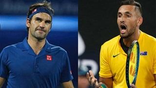 'Trai hư' Kyrgios copy những tuyệt kỹ của Federer và cái kết