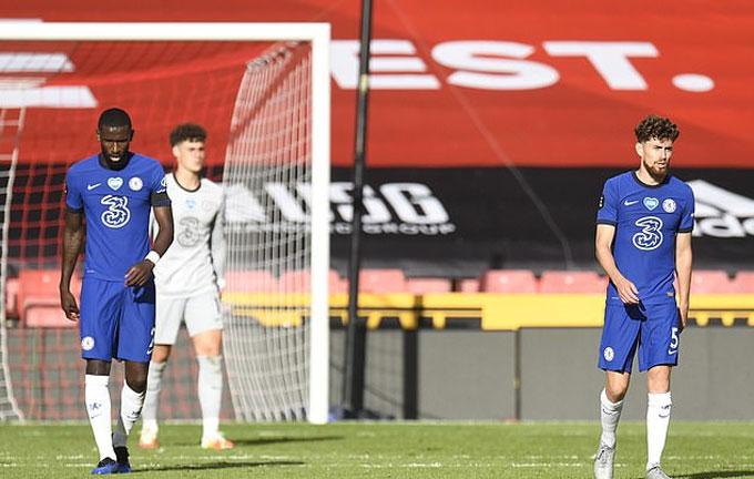 Chelsea thua xứng đáng