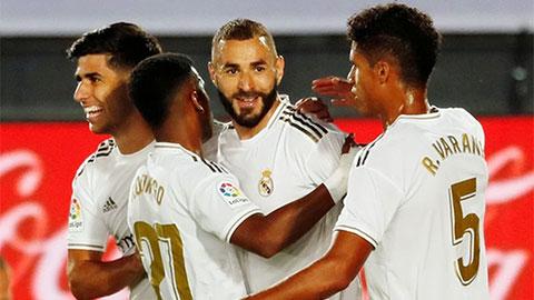Real có thể vô địch La Liga ngay giữa tuần tới