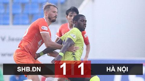 SHB.ĐN 1-1 Hà Nội: Quang Hải ra sân, Hà Nội thoát thua trước Đà Nẵng