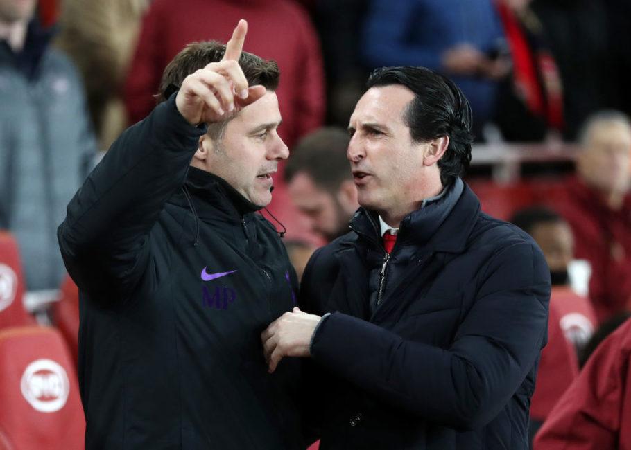 Poch và Emery có khá nhiều điểm tương đồng khi cùng dẫn dắt 2 CLB ở Bắc London
