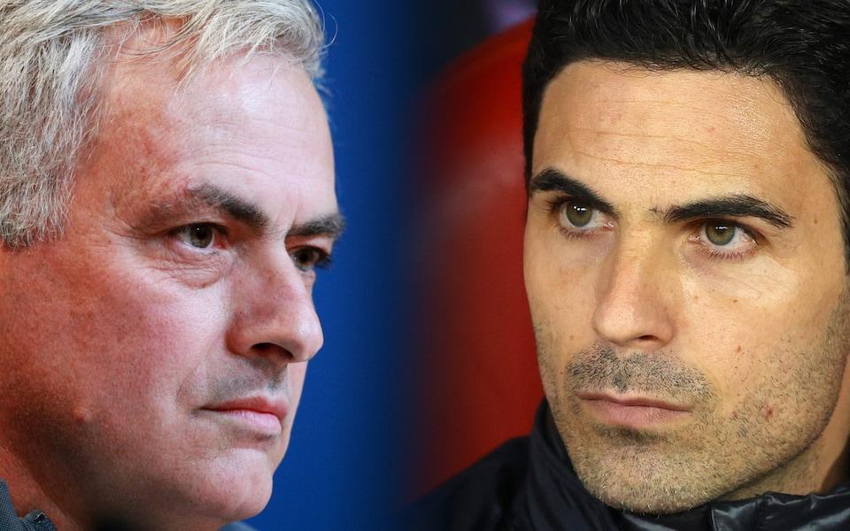 Trong khi đó, khác biệt giữa Mourinho và Arteta là quá lớn