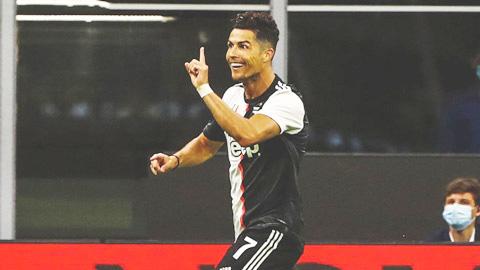 Ronaldo lại lập thêm hàng loạt kỷ lục sau trận đấu với Atalanta