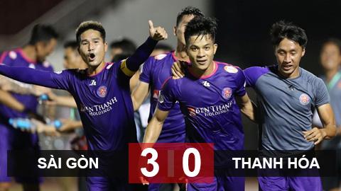 Sài Gòn 3-0 Thanh Hóa: Sài Gòn đòi lại ngôi đầu từ tay đội bóng của Công Phượng