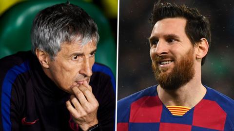 """Setien: """"Messi cần được nghỉ ngơi nhưng Barca không thể làm thế"""""""