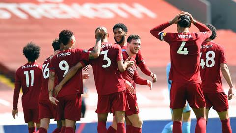 Liverpool vẫn có thể giành 100 điểm ở Ngoại hạng Anh như Man City?
