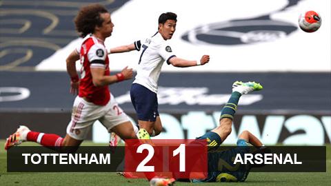 Tottenham 2-1 Arsenal: Pháo thủ thêm một lần chết vì hàng thủ