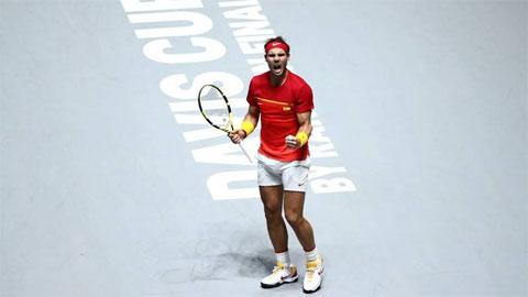 Davis Cup 2020 bị hủy: Nadal vuột mất cơ hội tỏa sáng