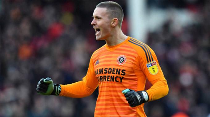 Henderson đang bắt rất hay ở Sheffield United