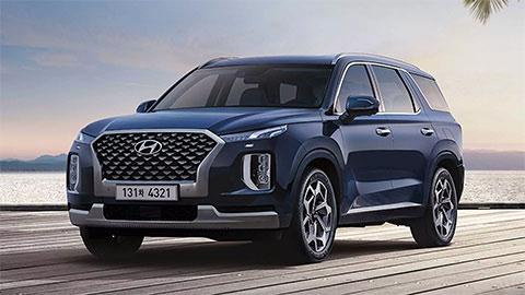 SUV 7 chỗ Hyundai Palisade Calligraphy ra mắt với nội thất sang chảnh như Mercedes-Benz