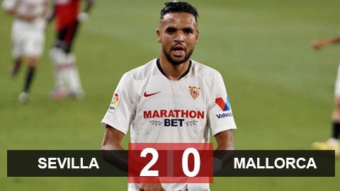Sevilla 2-0 Mallorca: Thắng nhẹ Mallorca, Sevilla 99% đi Champions League