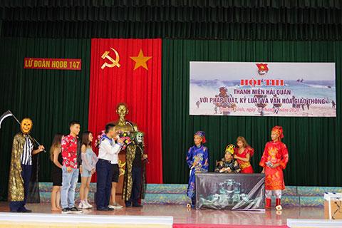 Các phần thi của các đội trong hội thi