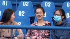 Ngắm nhìn những 'bóng hồng' xinh đẹp tới sân Gò Đậu và cổ vũ cho HAGL