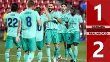 Granada 1-2 Real Madrid (Vòng 36 La Liga 2019/20)