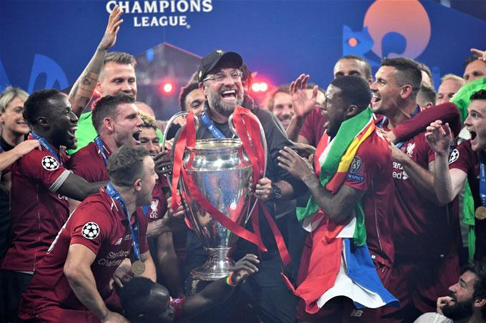 Klopp đưa Liverpool từ một đội bóng không giành nổi vé dự Champions League tới nhà vô địch Champions League