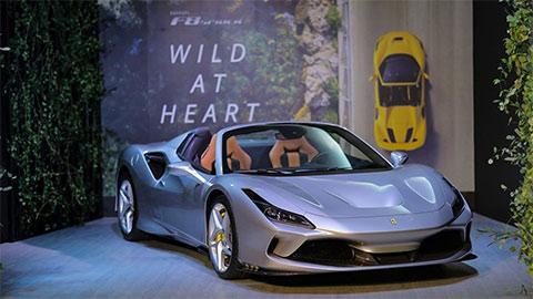 Ferrari F8 Spider giá hơn 19 tỷ đồng, khiến các đại gia Việt 'thèm thuồng'