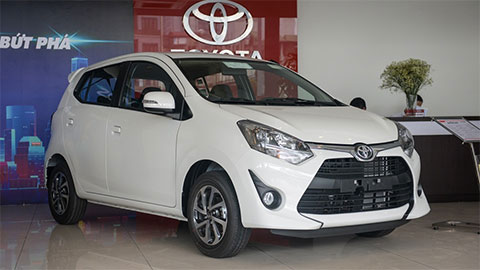 Toyota Wigo giảm giá mạnh, đối đầu VinFast Fadil, Hyundai Grand i10, Kia Morning