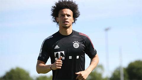 Leroy Sane có buổi tập đầu tiên ở Bayern