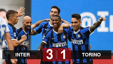 Kết quả Inter 3-1 Torino:   Young ghi bàn và Sanchez lập cú đúp kiến tạo, Inter cướp ngôi nhì bảng của Lazio