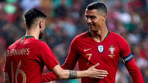 Solskjaer hỏi ý kiến Ronaldo trước khi chiêu mộ Bruno Fernandes