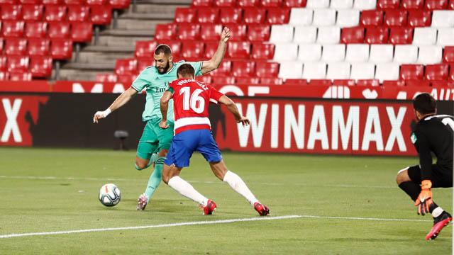 Benzema lập công với bàn thắng ấn tượng