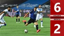 Atalanta 6-2 Brescia (Vòng 33 Serie A 2019/20)