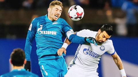 Nhận định bóng đá Zenit vsOrenburg, 00h30 ngày 167