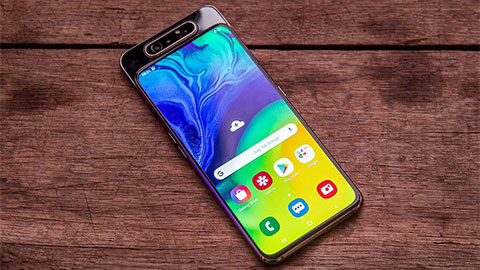"""Samsung Galaxy A80 với Snapdragon 730, RAM 8GB, pin 3700mAh giảm giá """"sập sàn"""" tại VN, xuống mức đáy mới"""