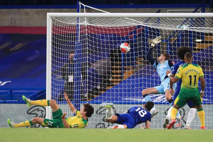 Giroud tiếp tục nổ súng để mang về thắng lợi cho Chelsea