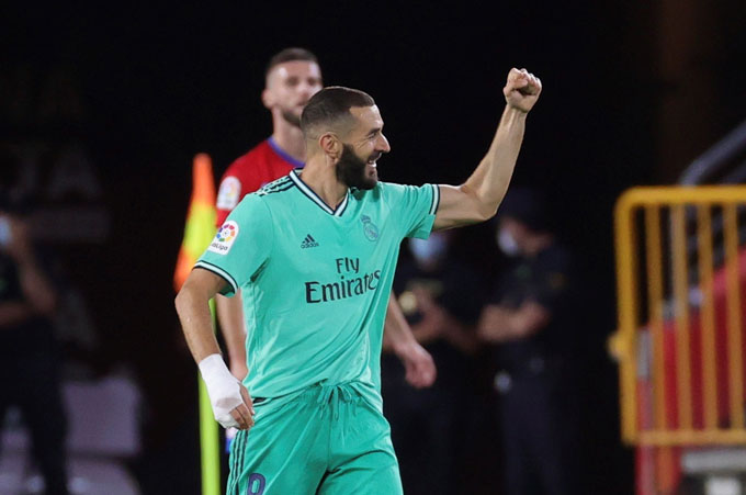 Benzema là quái kiệt của Real