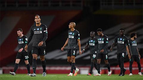 Liverpool hết cơ hội phá kỷ lục của Man City
